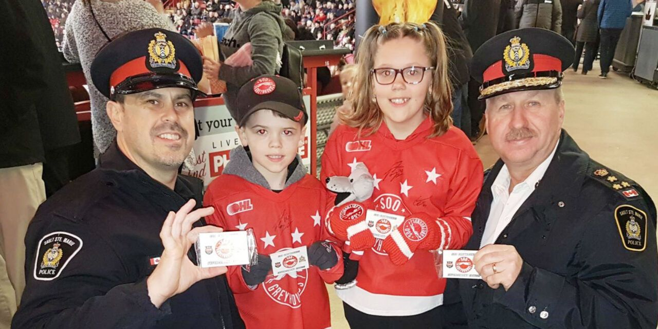 Hockey Cards Help to Build Trust and Prevent Crime